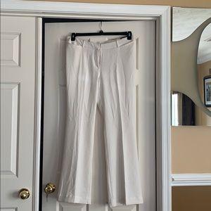 Worthington Plus Size  White Dress Pants
